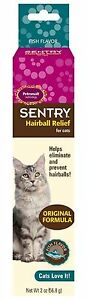 SentryHC Petromalt Hairball Relief for Cats Fish Flvr 2oz