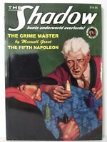 The Shadow #52 Pulp PB Book 2 Complete Novels The Crime Master & Fifth Napoleon