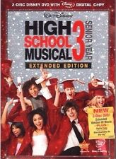 High School Musical 3: Senior Year Extended Edition 2-Disc Set NEW in Slipcover