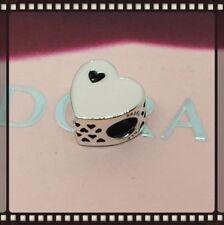 Pandora Sweet Love Heart With Pink Enamel Charm S925 ALE+ Valentine Gift Bag