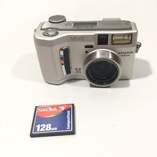 Minolta DiMAGE S404 4.0 MP Digital Camera Untested For Parts Or Repair