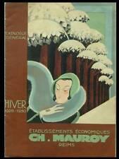 CATALOGUE MAUROY - HIVER 1929-1930 - MODE, REIMS, ART DECO