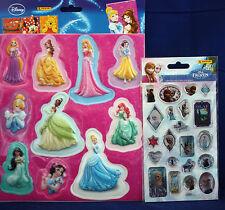 "**Disney Princess 3D Sticker**Panini Glitter-Sticker ""Die Eiskönigin**neu**"