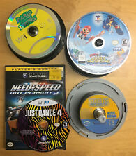 Huge Lot of 103 Nintendo Gamecube & Wii Game Discs Games Wholesale Tested GC U