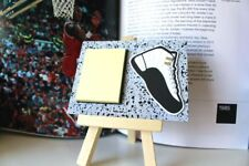 """Retro Jordan 12 XII Taxi Art Collectible Magnet 4"""" x 3"""" with Sticky Pad"""
