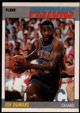 Joe Dumars 1987-88 Fleer #31 Pistons