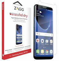 GENUINE ZAGG INVISIBLESHIELD HD DRY SCREEN PROTECTOR FOR SAMSUNG GALAXY S8+ PLUS