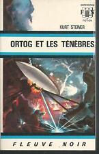 Ortog et les ténèbres.Kurt STEINER.Anticipation 376  SF46A
