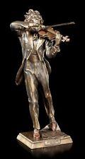 Niccolò Paganini Figur - Veronese Statue Bronze-Optik Musiker Geige