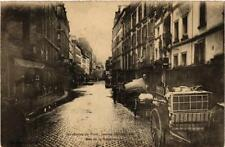 CPA Inondation de Paris, 1910. Rue de la Roquette (562155)