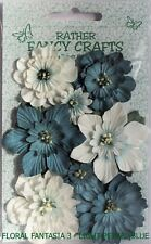 Handmade Mulberry Paper Flowers x Pack - Floral Fantasia 3