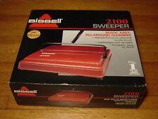 Bissell 2100 Sweeper ~ Lightweight ~ All Floors ~ High Performance Bristle Brush