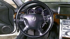 05-08 Acura RL Steering Column Assembly with Wheel/Bag OEM (Power Tilt)