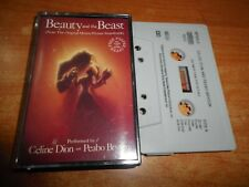 BEAUTY AND THE BEAST BANDA SONORA CELINE DION PEABO BRYSON CASETE CASSETTE SINGL