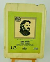 VINTAGE Kenny Rogers: Kenny Rogers (Self Titled) 8-Track Stereo Tape Cartridge
