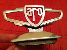 ARO hood ornament emblem badge Auto Romania GAZ Dacia Duster Hisparo Portaro 4X4