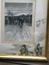 Louis Kinney Harlow (American, 1850-1913) Civil War Related Lithographs - Signed