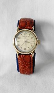 Vintage 1940's Men's Hamilton Langdon Cld 10K GF Wristwatch Running