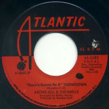 """ARCHIE BELL & THE DRELLS Showdown/Go For What You Know 7"""" 1968 Atlantic VG+"""