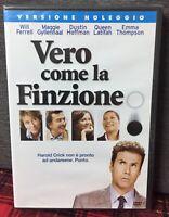 VERO COME LA FINZIONE (2006) DVD Rent Nuovo Sigillato Will Ferrel D. Hoffman N