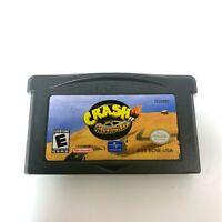 Crash Nitro Kart NINTENDO GAMEBOY ADVANCE GBA GAME Tested + Working!