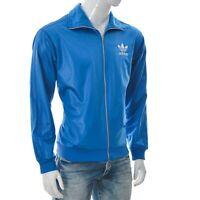 Adidas Sportswear Chile 62 Men Activewear Tracksuit Bomber Jacket Fullzip Blue M