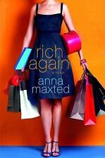 """Brand New Book """"RICH AGAIN"""" A Novel By Anna Maxted (2009, Paperback) - AWESOME !"""