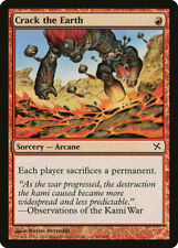 Magic MTG Tradingcard Betrayers of Kamigawa 2005 Crack the Earth 98/165