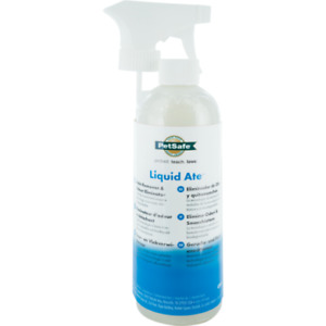 PetSafe Liquid Ate Odour Eliminator & Stain Remover 475ml Spray, For Dogs & Cats
