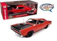 AutoWorld 1:18 American Muscle 1969 1/2 Dodge Coronet Super Bee Hardtop AMM1231