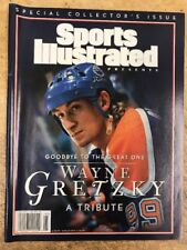 """Wayne GRETZKY 1999 Sports Illustrated """"Goodbye To The Great One"""" A Tribute"""