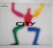JDM Brochure Honda City