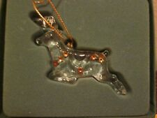 Lenox Crystal Reindeer Ornament