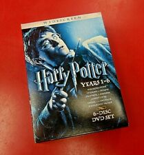 Harry Potter Years 1-6 Box Set -Widescreen Edition (6 Movies) *EXCELLENT*