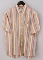 Men Lacoste Casual ShirtDevanlay Short Sleeves Cotton 41 XXL XMS756