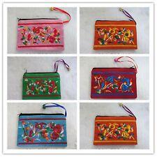 Chinese Style Silk Bag Wallet Purse Jewllery