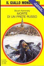 L- GIALLI MONDADORI N.2346 MORTE DI UN PRETE RUSSO - KAMINSKY---- 1994- B- ZGM10