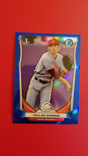 Taylor Sparks 2014 Bowman Chrome Draft Blue Refractor 392/399 , Reds #CDP55