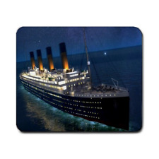 RMS TITANIC  LARGE MOUSEPAD **SUPER ITEM** (AA)