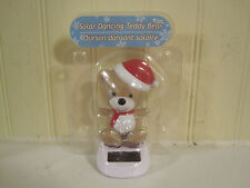 Case of 48 Solar Dancing bear with santa hat  new in package Christmas holiday
