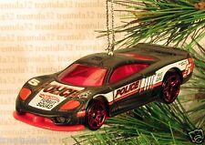 SALEEN S7 Police Car CHRISTMAS ORNAMENT Black/Red XMAS