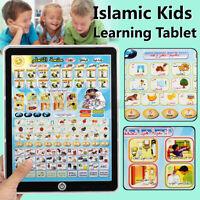 Kinder Tablet Islamische Quran Spielzeug Früh Lernen Lesen Maschine Geschenk