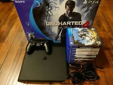 SONY PlayStation 4 (PS4) Slim Model 500GB Console & 13 Games