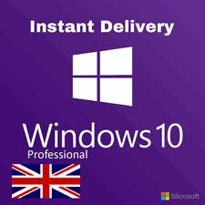 Genuine Windows 10 Professional Pro Key 32 & 64 Bit Win 10 Pro Key Instant