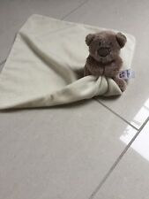 Baby Comforter George At Asda Teddy Bear Cream COMFORT BLANKET plush SOFT TOY