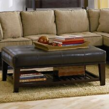 Brilliant Leather Coffee Table Products For Sale Ebay Cjindustries Chair Design For Home Cjindustriesco