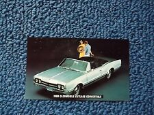 1966 Oldsmobile Convertible postcard