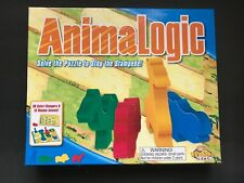 AnimaLogic Game Solve The Puzzle To Stop The Stampede Fat Brain Toy Co.