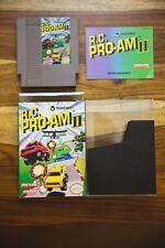 R.C. RC Pro Am Pro-Am 2 II Nintendo NES COMPLETE CIB Box Manual NM EXCELLENT