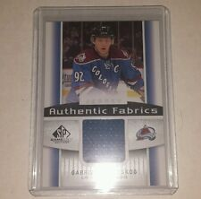 2013-14 SP Game Used Gabriel Landeskog Authentic Fabrics jersey card